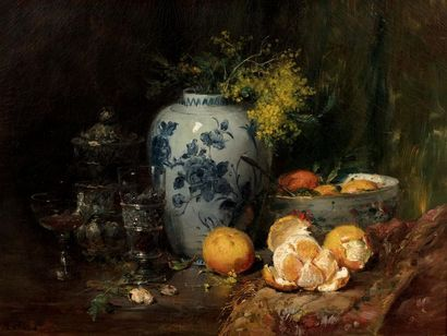 Jean Baptiste OLIVE (Marseille 1848 - 1936)...