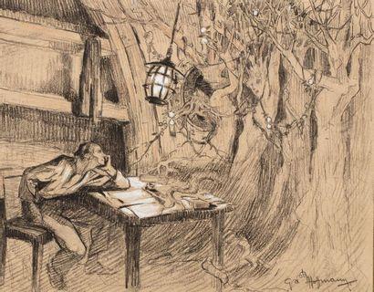 Gaston HOFFMANN (Paris 1883 - Nice 1977 Les...