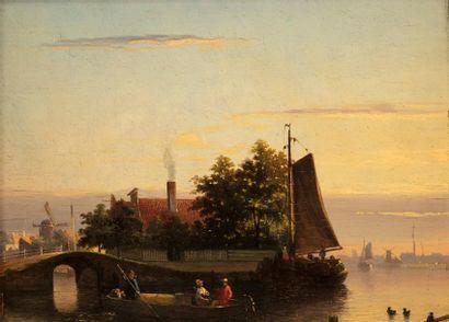 Salomon Leonardus VERVEER (La Haye 1813 -...