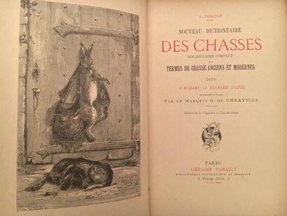 « Nouveau dictionnaire des chasses. » A....