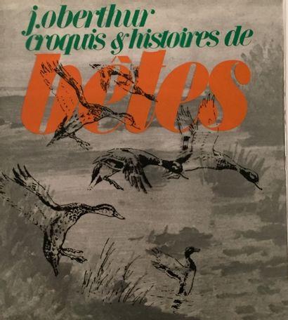 « Croquis et Histoires de bêtes » - J. Obethür...
