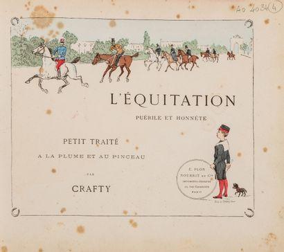 CRAFTY L'équitation puérile et honnête Cartonnage...