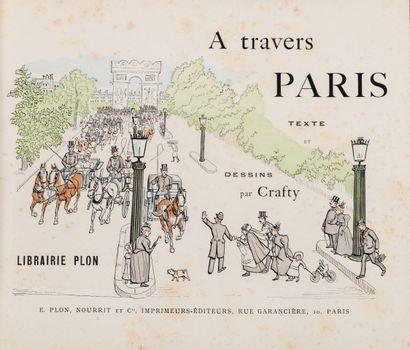 CRAFTY A travers Paris Cartonnage romantique...