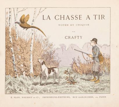 CRAFTY La chasse à tir Cartonnage romantique...