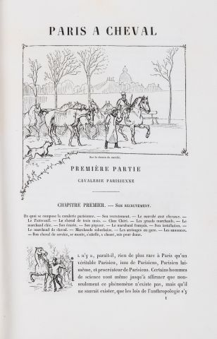 CRAFTY Paris à cheval Texte et dessins par...