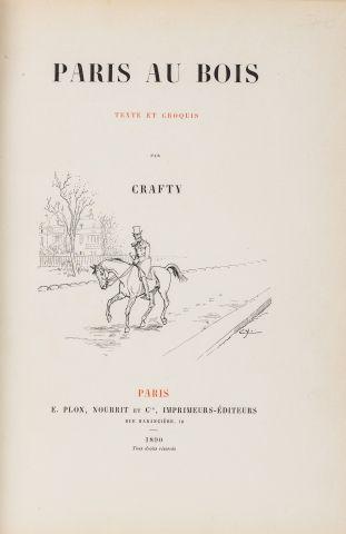 CRAFTY Paris au bois, texte et croquis Paris,...