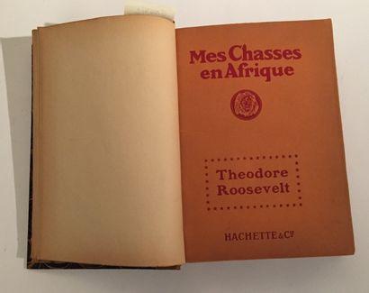 Lot de livres comprenant : - Théodore Roosevelt...