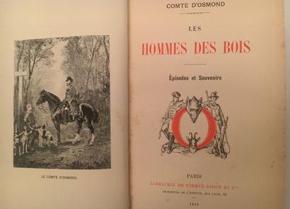 Les Hommes des Bois . Comte d'Osmond . Edition...