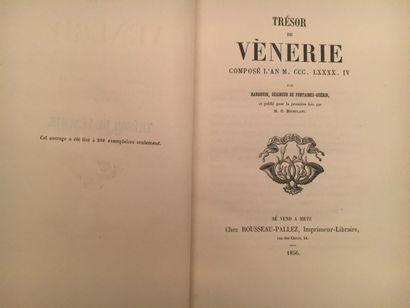 Trésor de Vénerie par Hardouin seigneur de...