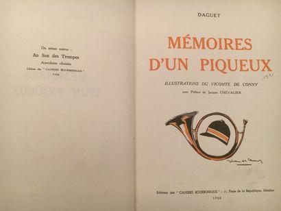 « Mémoires d'un piqueux » - Daguet. Editions...