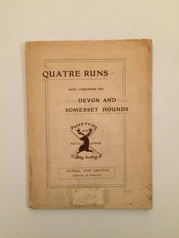 «Quatre Runs avec l'équipage Devon et Somerset...