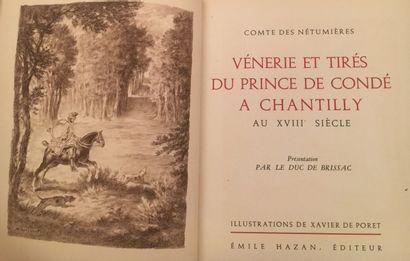 Vènerie et Tirés du Prince de Condé à Chantilly...