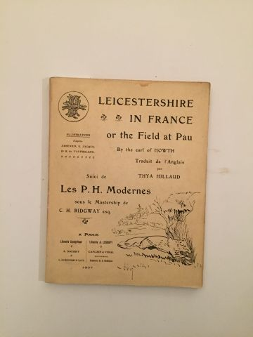 « Leicestershire in France » or in the field...