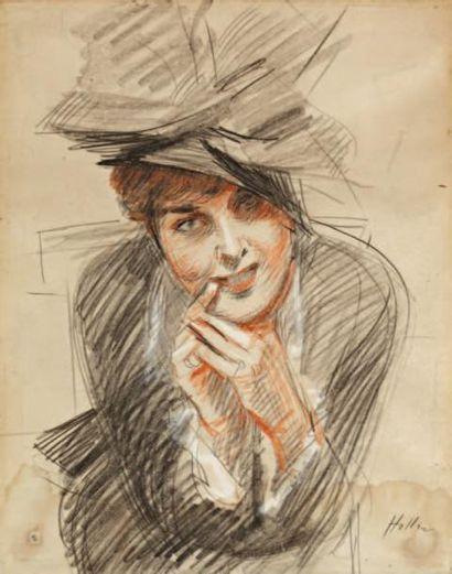 Paul Cesar HELLEU (Vannes 1859-Paris 1927)