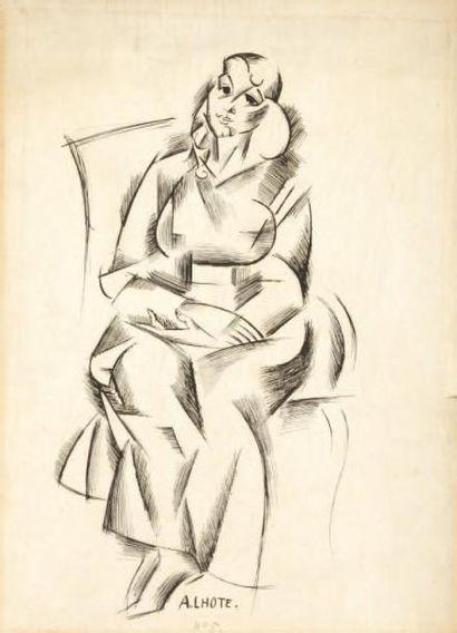 André LHOTE (Bordeaux 1885 - Paris 1962)