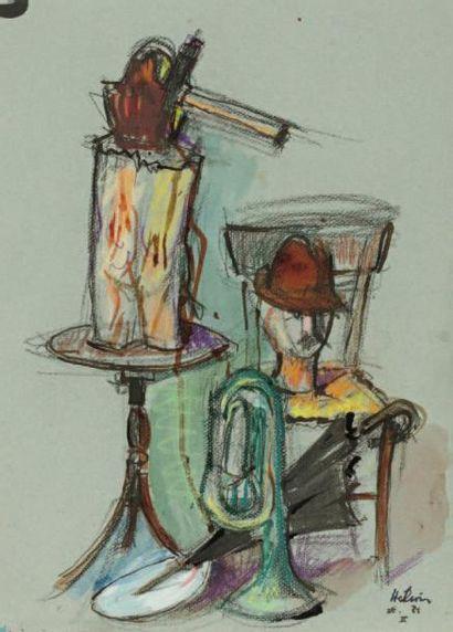 Jean HELION (Couterne 1904-Paris 1987)