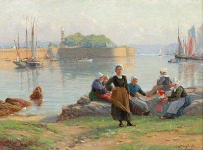 Alfred GUILLOU (Concarneau 1845-1926)