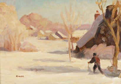 Jules Emile ZINGG (Montbeliard 1882- Paris 1942)