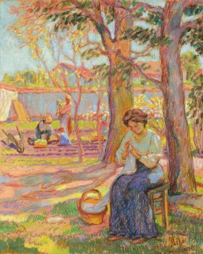 Jean PESKE (Golta 1870-Le mans 1949)