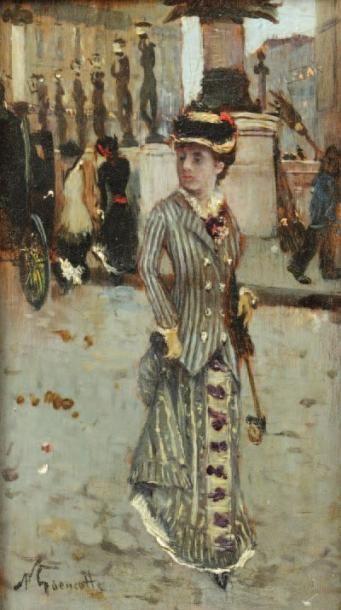 Norbert GOENEUTTE (Paris 1854 - 1894)