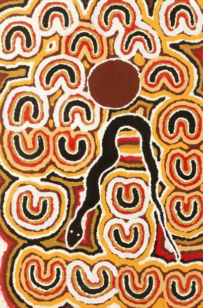Mary Njamme Kunna Kunnu - 1997 Acrylique...