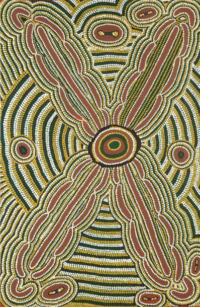 Molly Tasman Napurrurla Seed Dreaming Acrylique...