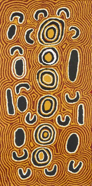 Nanu Nangala Sans titre, 1999 Acrylique sur...