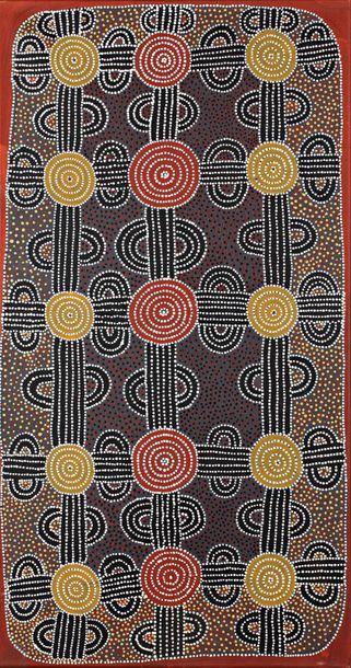 Lyndsay Bird Mpetyane (c. 1935 - ) Bush Plum...