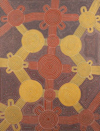 Paddy Petyarre Honey Ant Dreaming, 1991 Acrylique...