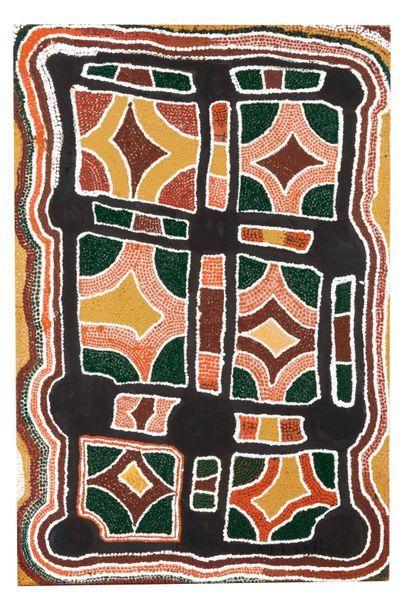 Michael Mutji Tjangala(c. 1940 - 2002)...