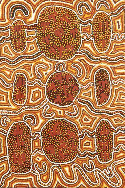 Wendy Wise Kangaroo Dreaming, 1998 Acrylique...