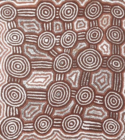 Barney Campbell Tjakamarra (1928 - 2007) Sans titre - Tingari - 1998 Acrylique...