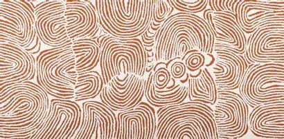 Ningurra Napurrula (c. 1938 - 2014) Sans titre Acrylique sur toile - 122 x 61 cm...
