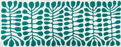 Mitjili Napurrula (1945 - ) Sans titre Acrylique sur toile - 152,5 x 61 cm Groupe...