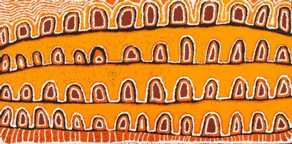 Alice Nampitjinpa (1945 - ) Sans titre Acrylique...
