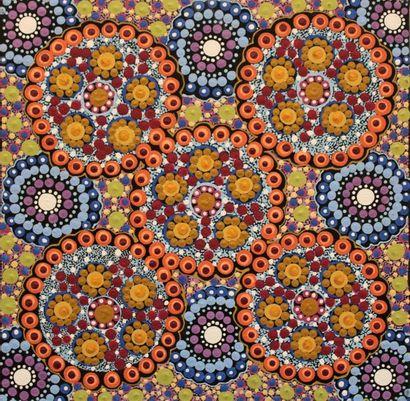 Vanessa Inkamala (1968 - ) Bush Flowers,...