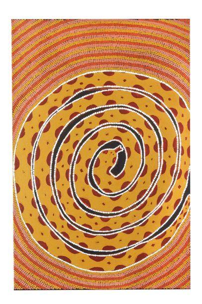Brandy Tjungurrayi (c. 1930 - 2012) Sans...