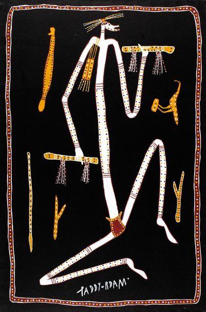 Paddy Fordham Wainburranga (c. 1932 - 2006) Balagangalan Mimi Acrylique sur toile...