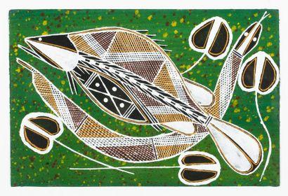 Solomon Nawudb Sans titre, 1998 Pigments...
