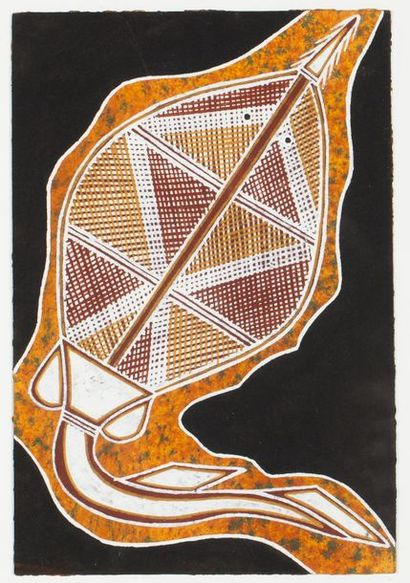 Solomon Nawudb Sawshart, 1998 Pigments naturels...