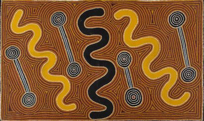 Lyndsay Bird Mpetyane (c. 1935 - ) Carpet...