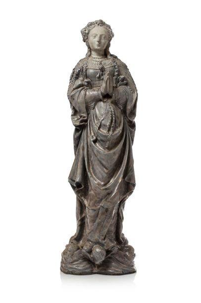 Emile MULLER (1823 - 1889) Sculpture en grès...