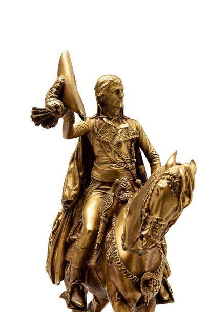 """Jean Léon GEROME (1824 - 1904) """"Bonaparte à cheval entrant au Caire"""" Salon de 1897..."""