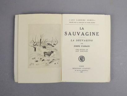 ARBAUD (Joseph d'). La Sauvagine. La Souvagino....