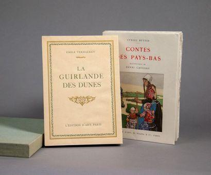 CASSIERS (Henri). Ensemble 2 ouvrages illustrés...