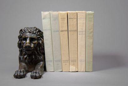[CYRAL (éditions)]. Bon ensemble de 6 volumes...