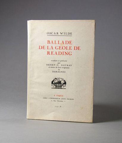 DARAGNÈS (Jean-Gabriel). - WILDE (Oscar)....