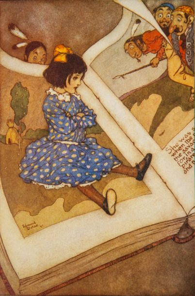 DULAC (Edmond). - STAWELL (Mrs Rodolph). My Days with the Fairies. Illustrated in...