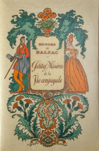 HEMARD (Joseph). - BALZAC (Honoré de). Petites Misères de la vie conjugale. Paris,...