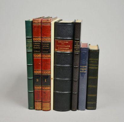 MONUMENTS ET TOPOGRAPHIE. Ensemble 7 ouvrages.  - HERMÈS MARSEILLAIS (L'), ou Guide...